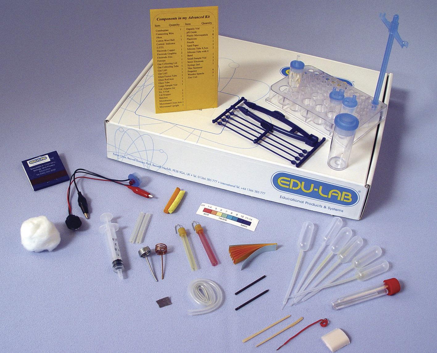 Advanced Kit, Student, Microscience - Edulab