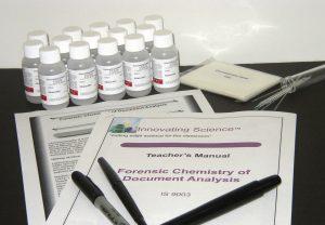 Forensic Chemistry of Chromatography (Document Analysis)
