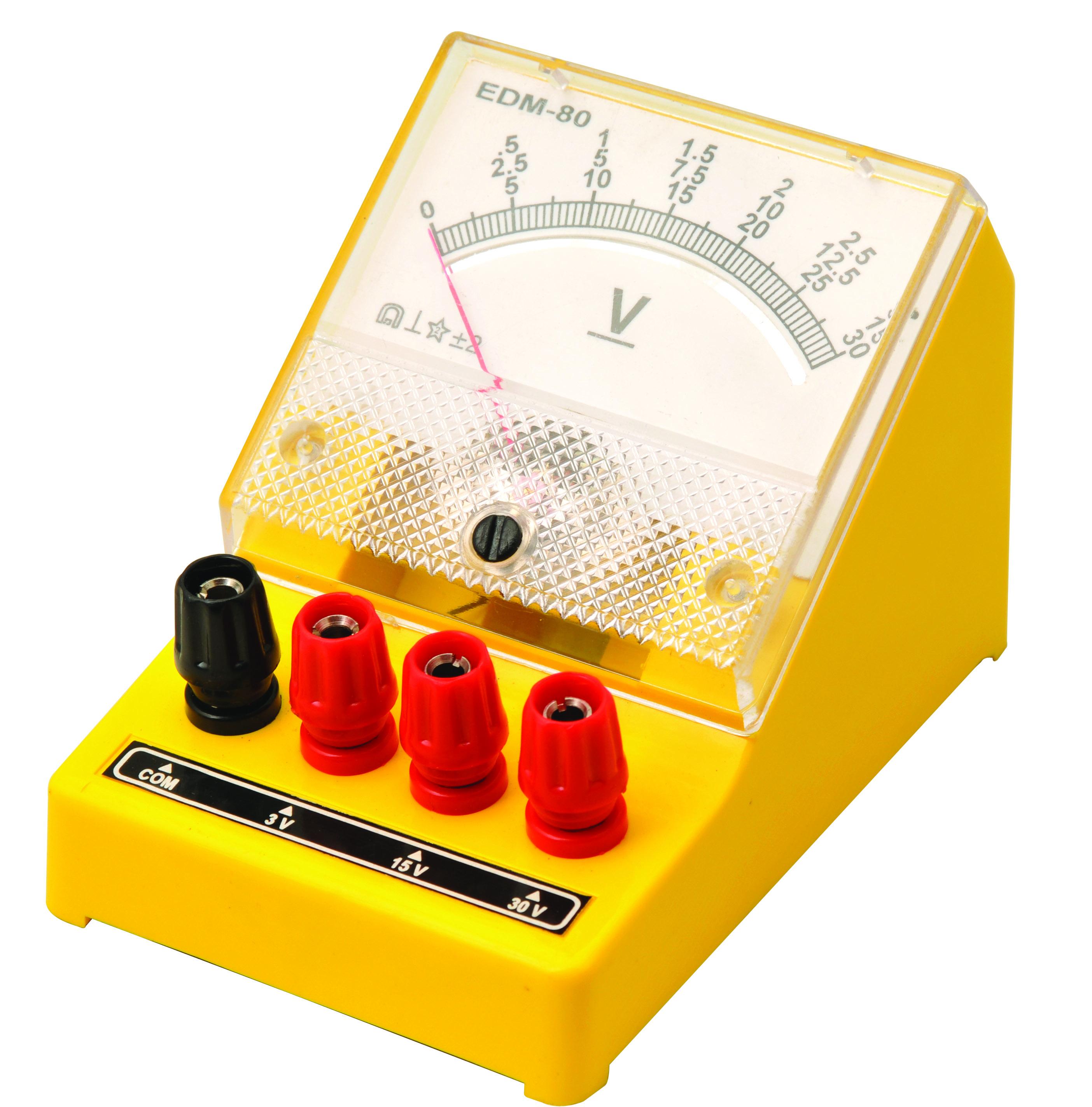 Voltmeter, Dual Range