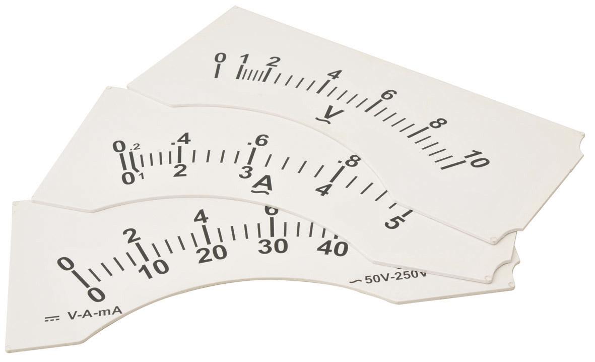 Demonstration Meter, Dial