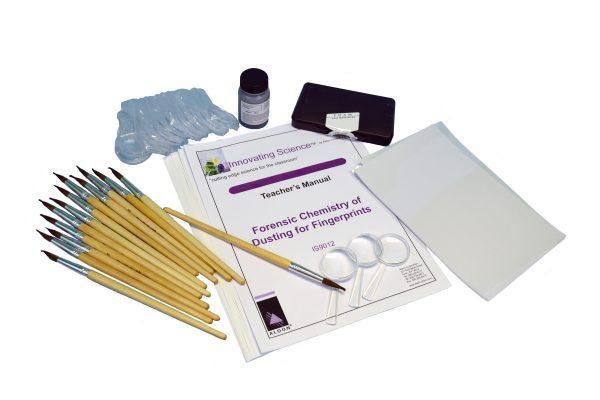 Forensic Chemistry of Dusting for Fingerprints