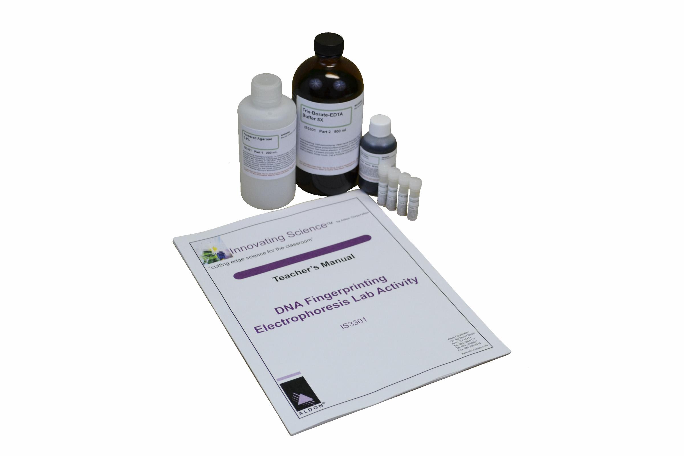 Dna Fingerprinting Electrophoresis Lab Activity Edulab